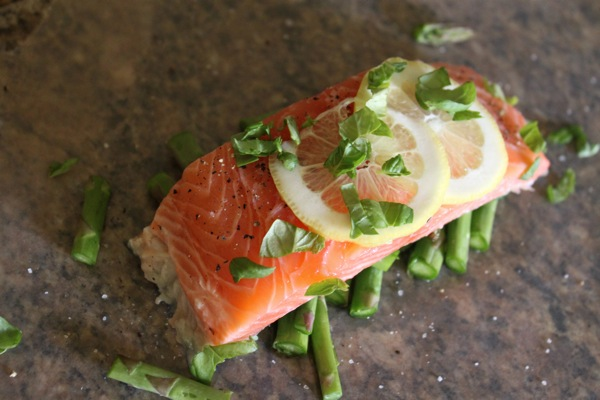 Salmon in parchment  1 of 1 5