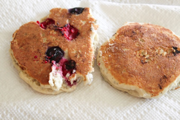 Berry pancakes  1 of 1