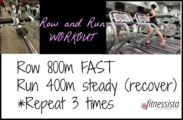 Row and run