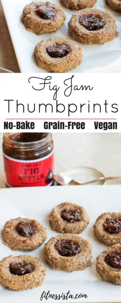 Fig Jam Thumbprint Cookies