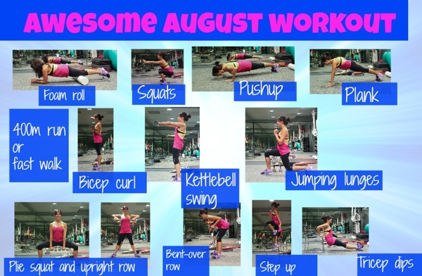 Awesome august workout2