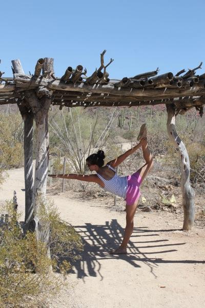 Desert yoga  1 of 1