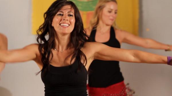 Gina dancing