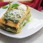Polenta Pesto Lasagna