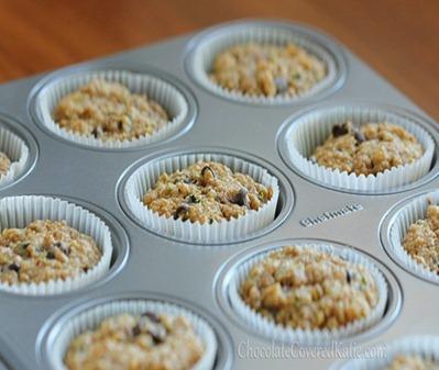 Zucchini muffin 3