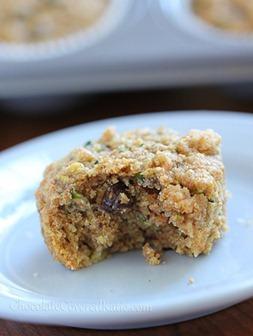 Zucchini muffin 4