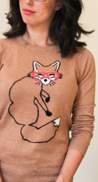 Fox sweater  1 of 1