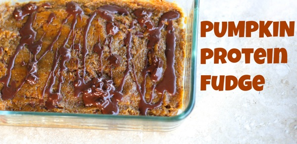 Pumpkin protein fudge  1 of 1