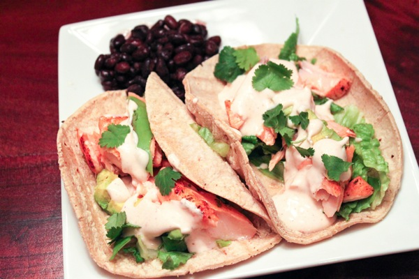 Salmon tacos  1 of 1