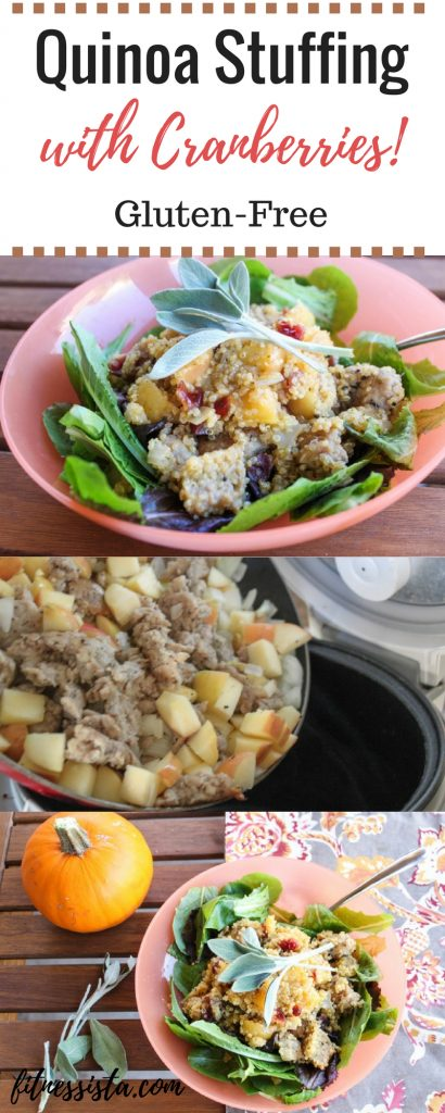 Quinoa Stuffing with Cranberries
