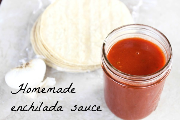 Homemade enchilada sauce  1 of 1