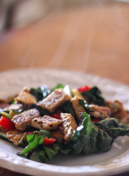 Tempeh salad  1 of 1