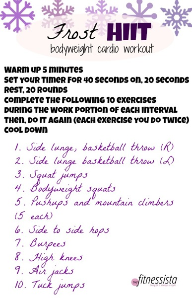 Frost hiit