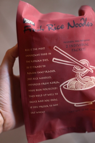 Trader Joe's rice noodles