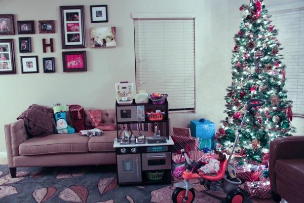 Santa came  1 of 1