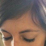 Bye-bye, eyelashes