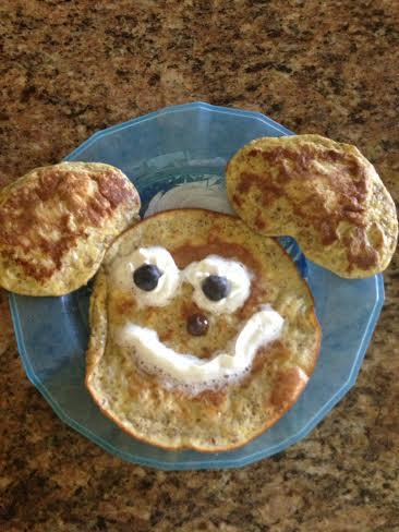 Puppy pancake