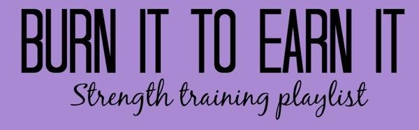 Strength training playlist