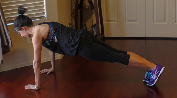 how to do a burpee step two