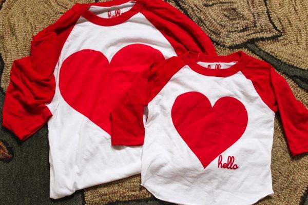 Heart shirts  1 of 1