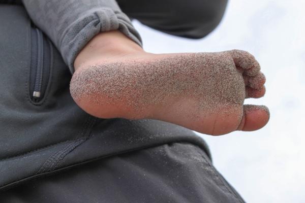 Sandy feet  1 of 1