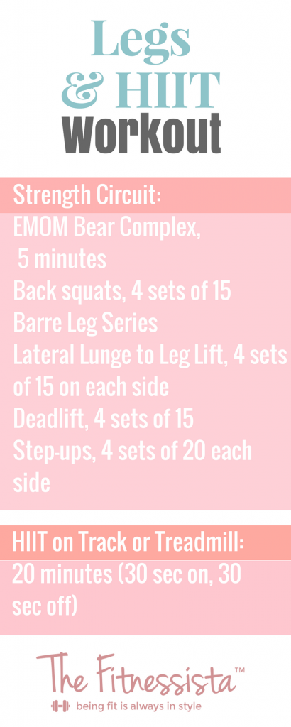 Legs & HIIT Workout