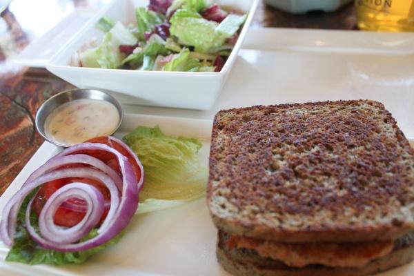 Salmon burger  1 of 1