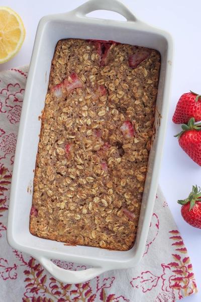 Strawberry lemon oat bars  1 of 1