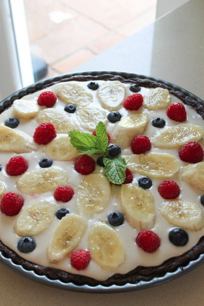 Brownie fruit pizza  1 of 1
