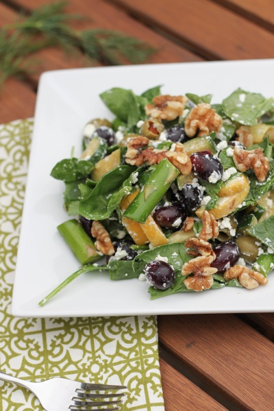 Crunch salad with ranch dressing  1 of 1 2