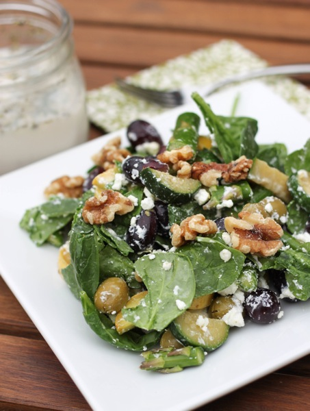 Crunch salad with ranch dressing  1 of 1 3