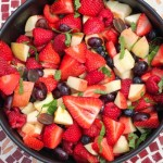 the best fruit salad and a new Zumba video