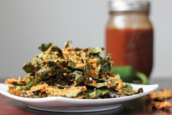 Jalapeno salsa kale chips  1 of 1 2