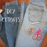 DIY: Cutoff Shorts
