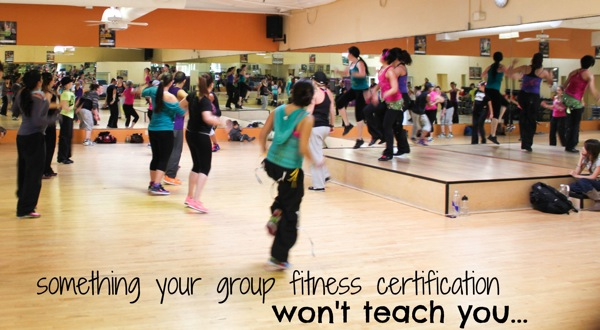 Your group fitness cert wont teach you