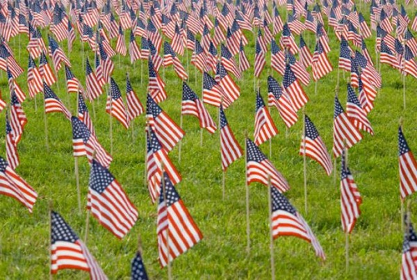 American flags 11