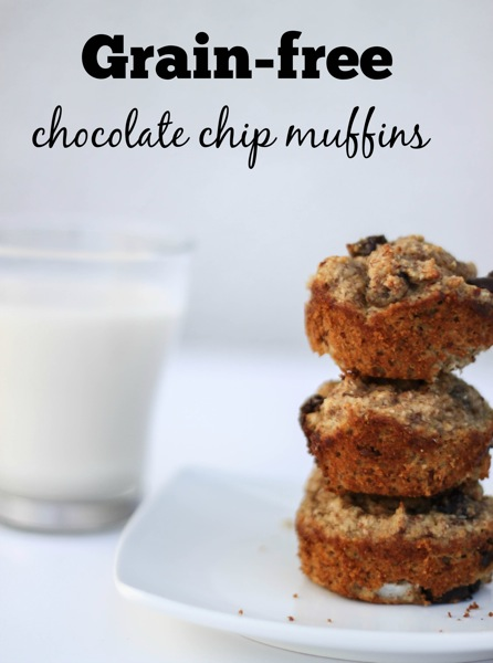Grain free chocolate chip muffins  1 of 1