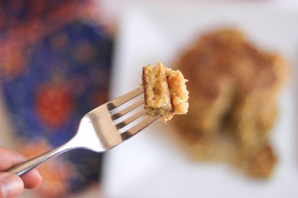 quinoa pancakes bite