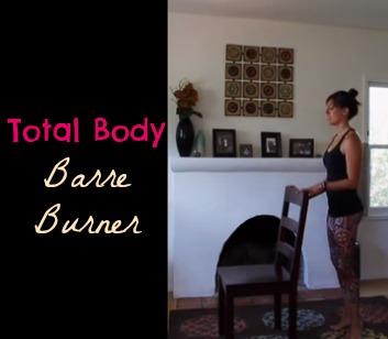 Total body barre burner