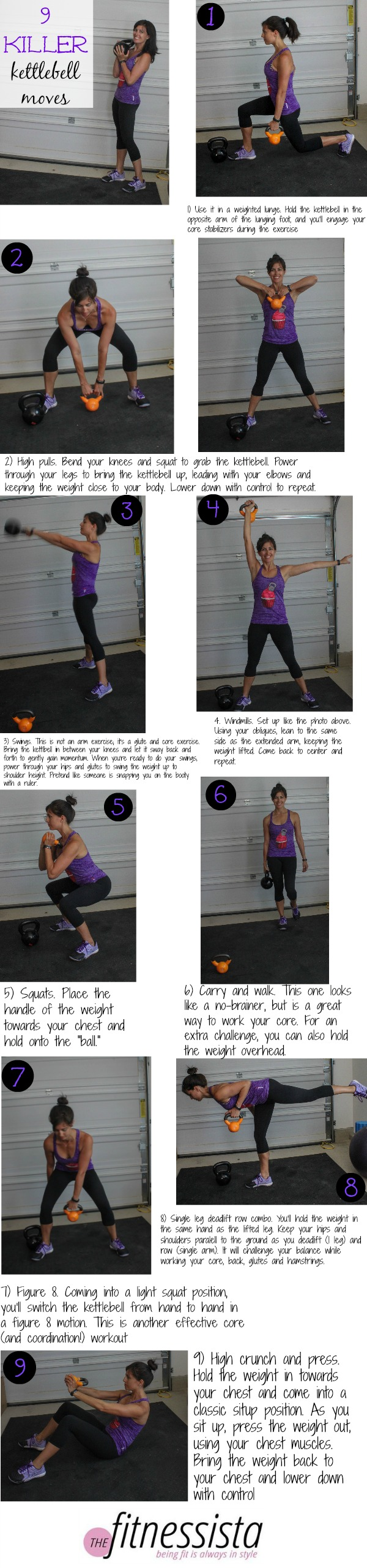 9 killer kettlebell moves