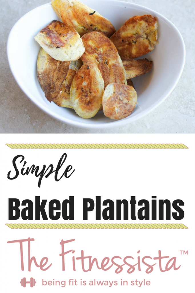 Plantains are a lovely starchy vegetable that make an excellent, healthy side dish. Try this easy recipe for baked plantains. fitnessista.com