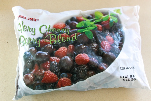 Trader Joe's Frozen Organic Berries