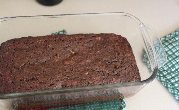 Chocolate zucchini bread  1 of 1