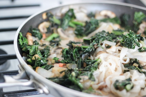 Kale and noodles  1 of 1