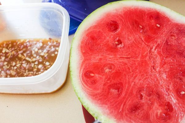 Pickled watermelon  1 of 1
