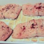 Lavender and honey salmon