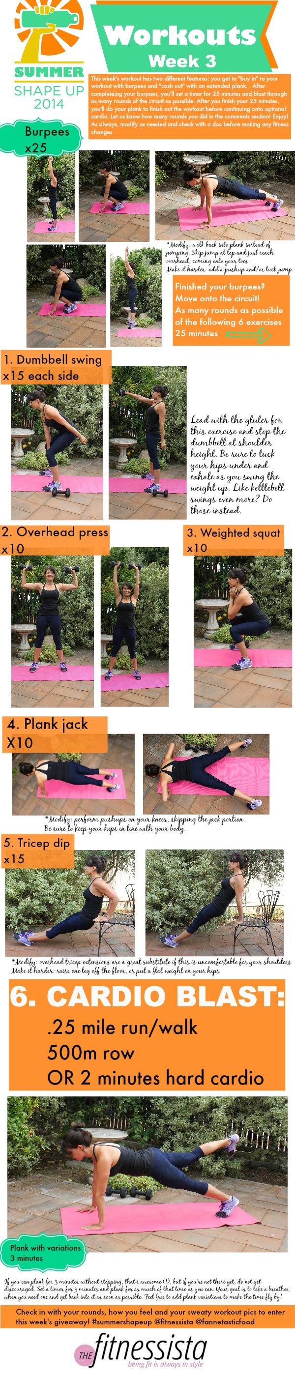 ssu2014 week 3 workout
