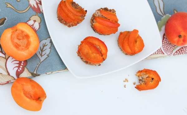 Grain-Free Apricot tartlets
