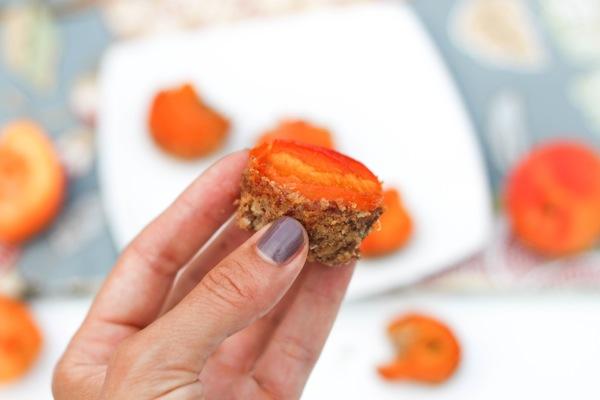 Apricot tartlet
