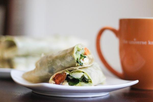 healthy make-ahead breakfast burritos